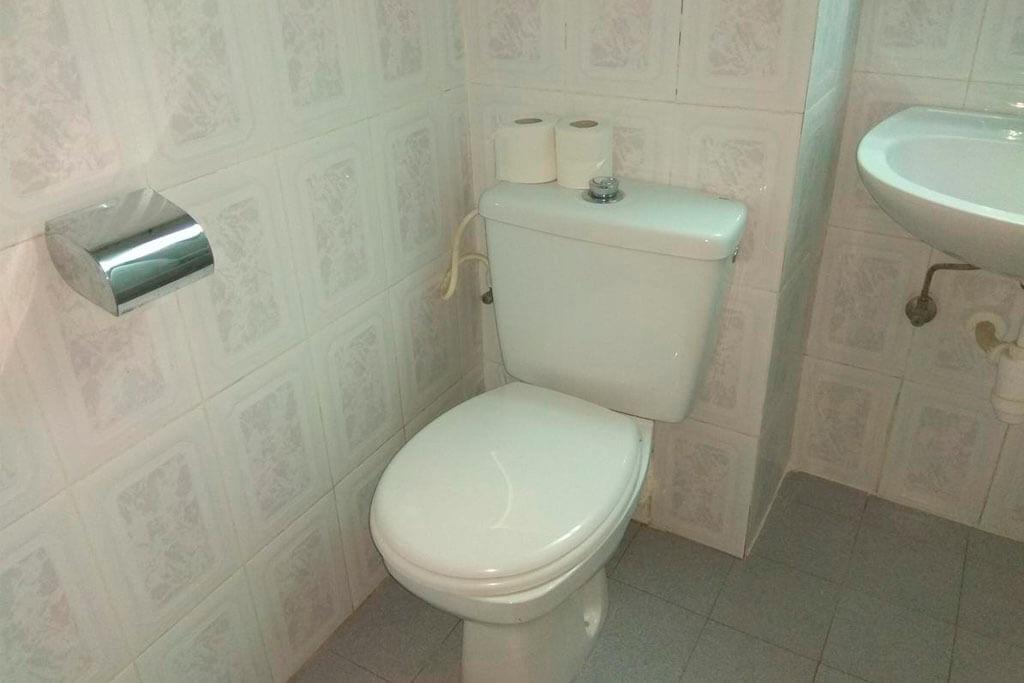 Туалет в номере отеля Park Hotel