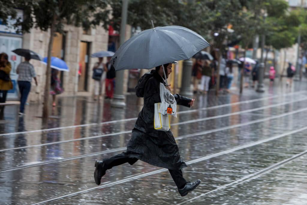 Дождь в Израиле