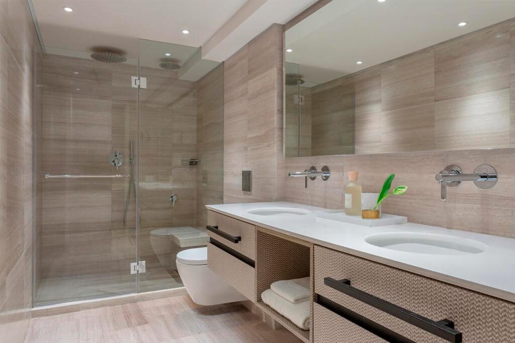 Ванная в отеле Дан Тель-Авив