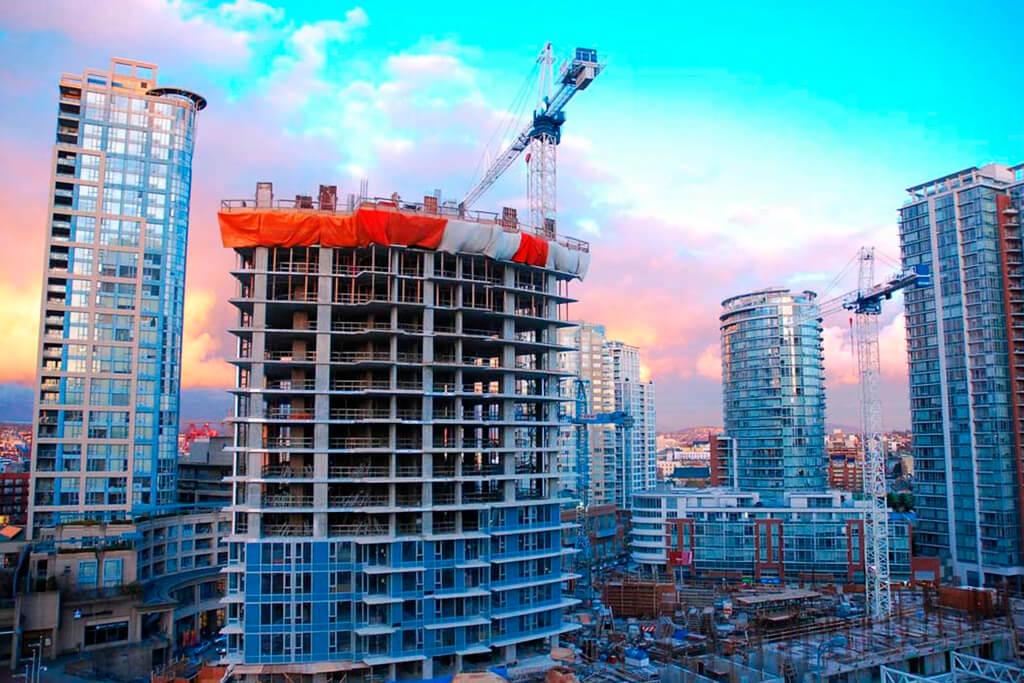 Недвижимость на стадии строительства