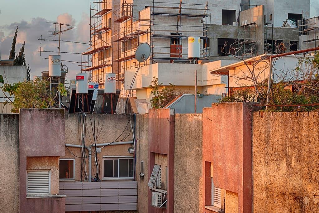 Обновление домов в Израиле