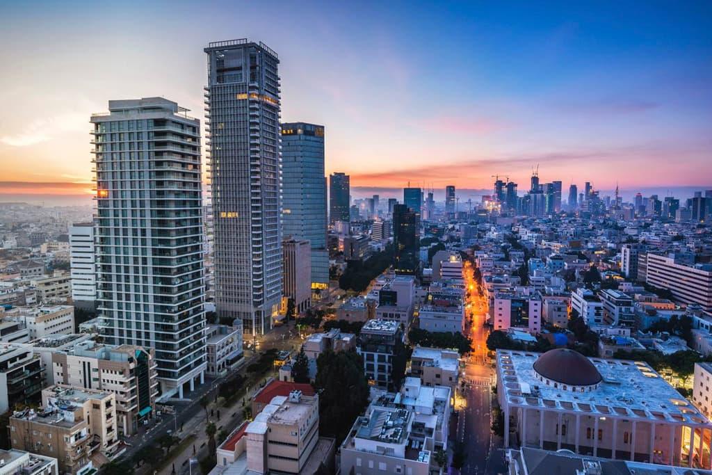 Жилые районы Тель-Авива